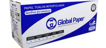 Distribuidora de papel toalha interfolha